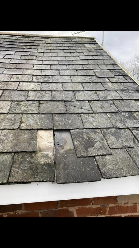 Image 7 - 120 year old slate roof full renovation.