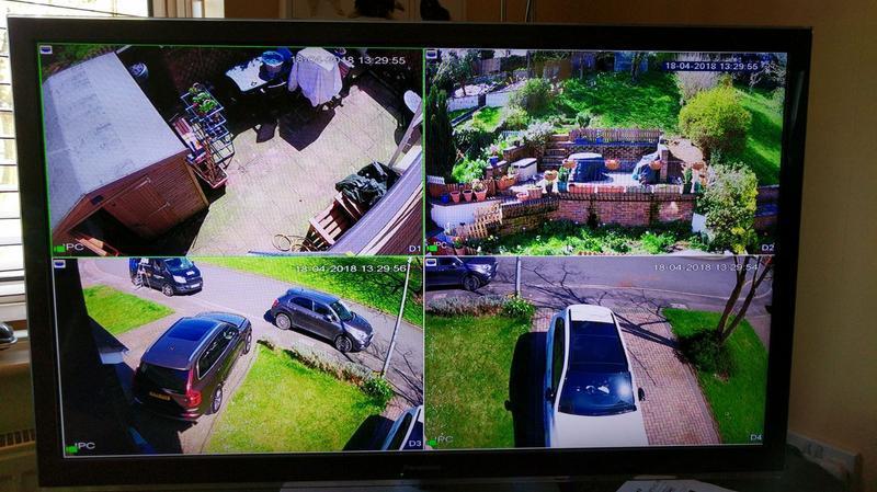 Image 1 - CCTV Monitor via main lounge TV