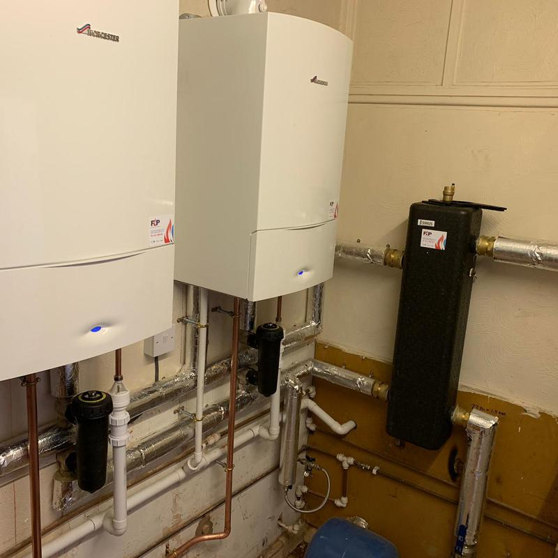 Image 8 - New Cascade heating system for one of our commercial clients