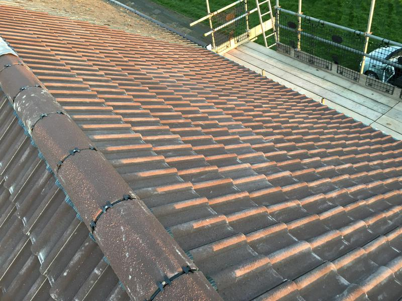 Image 11 - New roof finished with dry fix ridge system