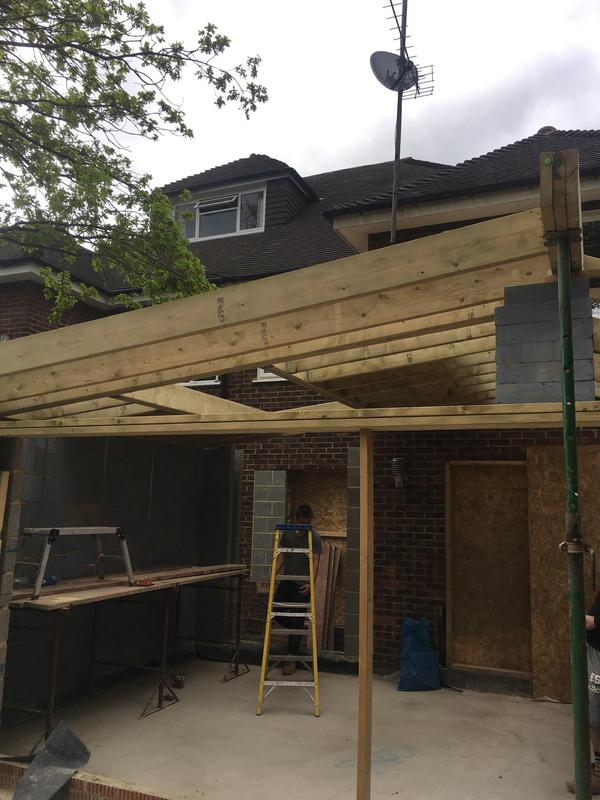 Image 57 - Roof structure we did in Buckhurst hill