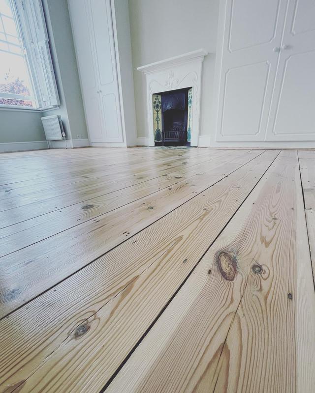 Image 8 - Pine floor restored