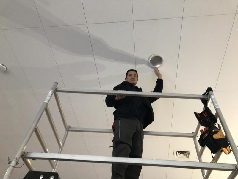 Image 53 - Installing LED lighting with Automatic dimming system