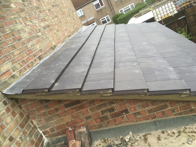 Image 8 - New roof installed on side extension
