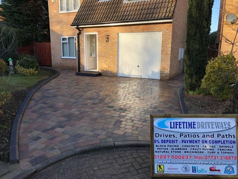 Image 95 - Tegula block paving driveway broadstairs