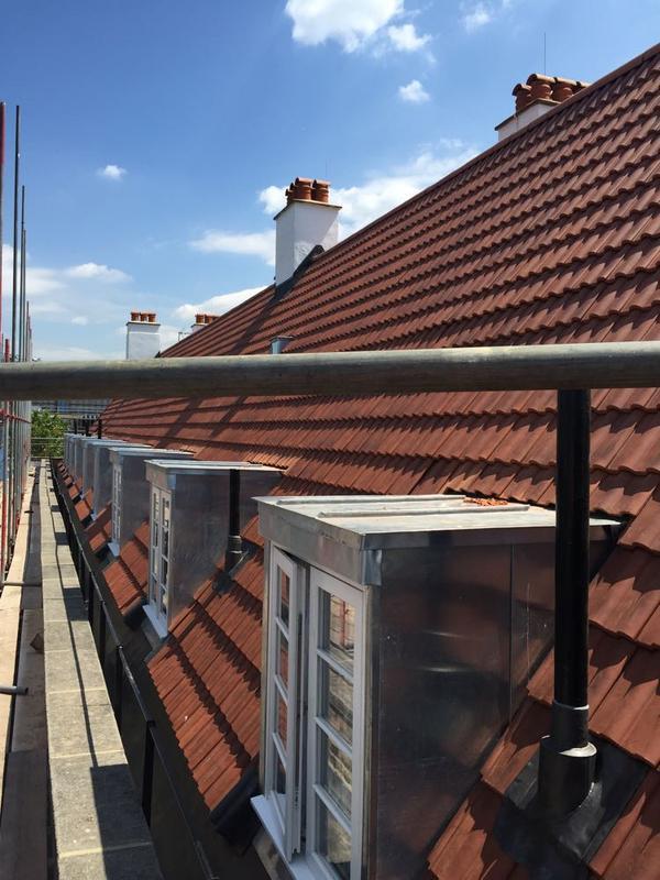 Image 46 - 1000m2 Re-Roof, Sandtoft Modula Tiles, 32 Zinc Dormers - Kings Cross, London