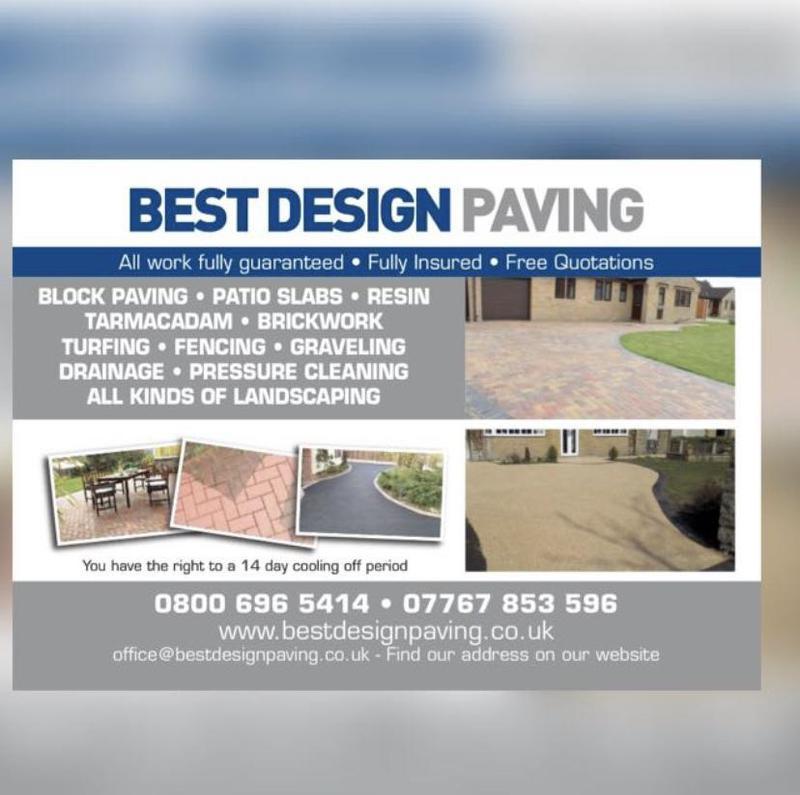 Best Design Paving logo