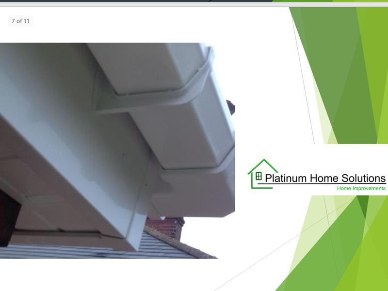 Image 110 - Heavy duty white fascia and square guttering.