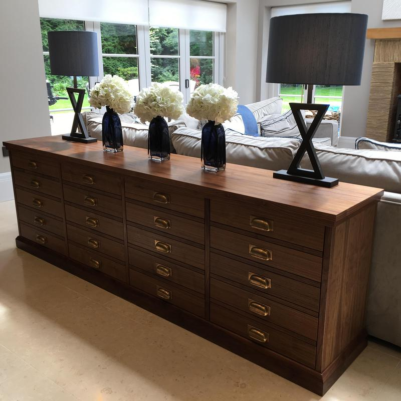 Image 11 - Bespoke walnut cabinet