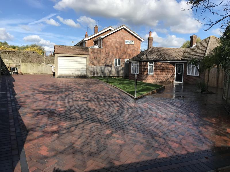 Image 3 - New driveway and patio