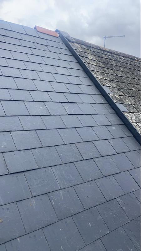 Image 1 - New slate roof lay underway