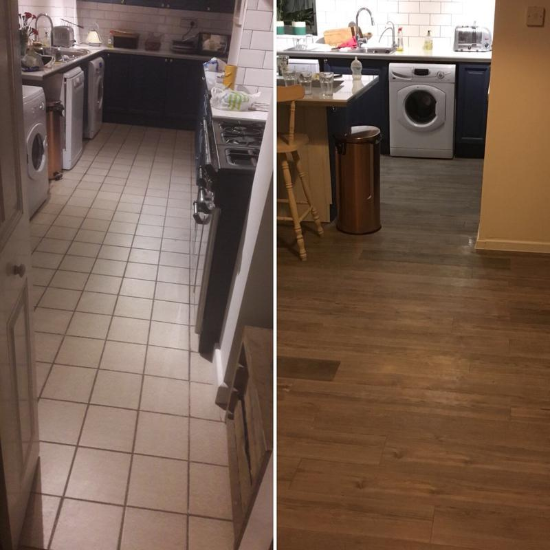 Image 54 - Before and after domestic flooring