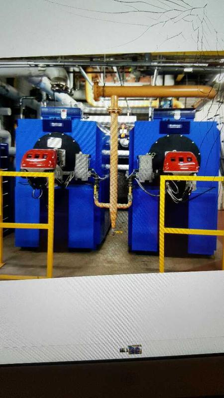 Image 1 - ready to service 2x riello rs100 burners fitted to some buderus logano 915 kws each