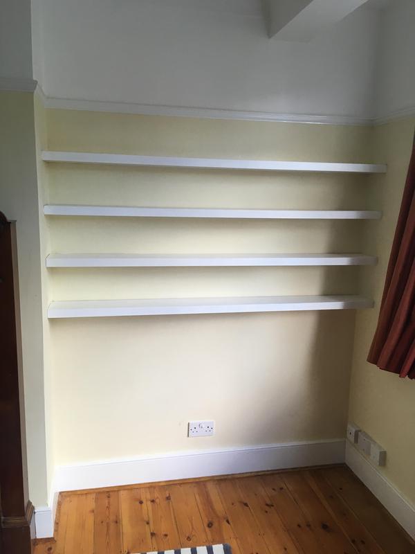 Image 11 - Jenny's floating shelves