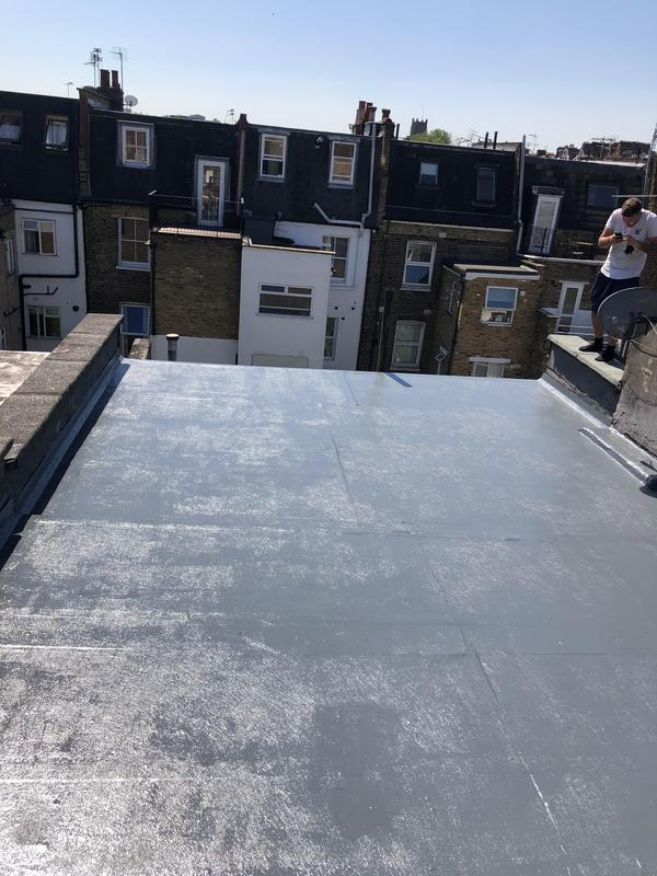 Image 13 - Fibreglass roof completes in Fulham.