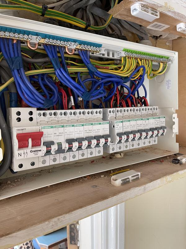 Image 7 - Fuseboard Installation
