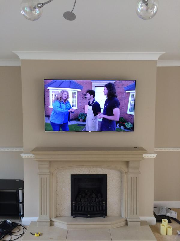 Image 38 - lcd & led tv wall mounting installation services