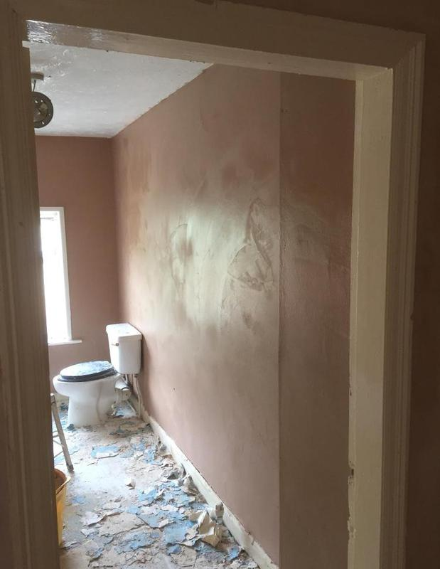 Image 56 - Whole house skimmed and floor replaced and bathroom refurbishment