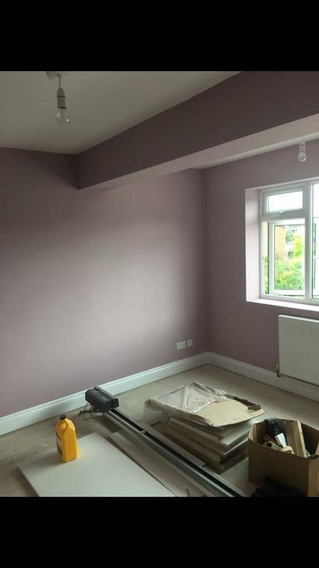 Image 33 - raspberry walls with white satin