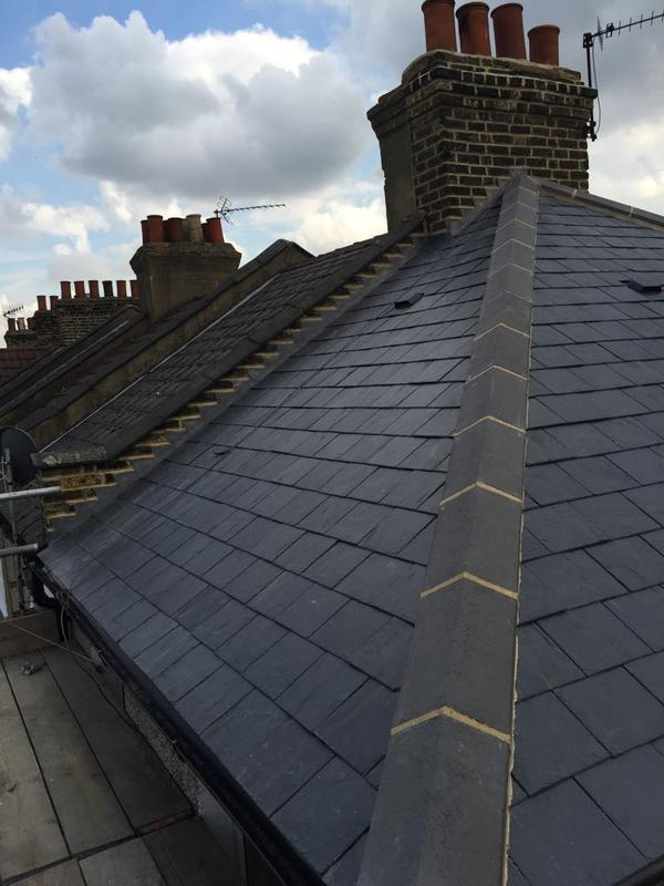 Image 21 - Re-Roof Natural Spanish Slates - Canning Town, East London
