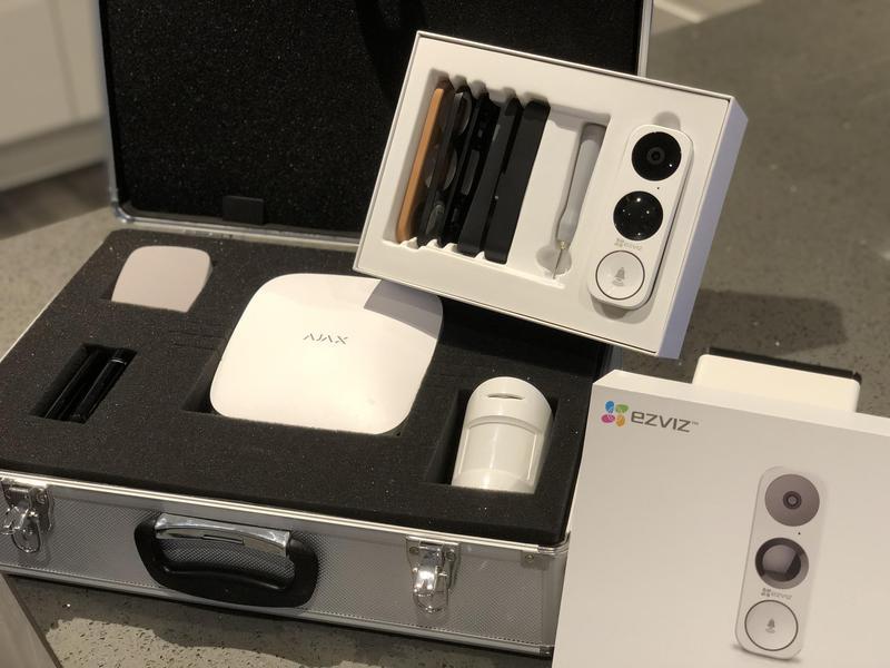 Image 5 - Ajax Smart Alarm system with EZVIZ DB1 Smart Doorbell.