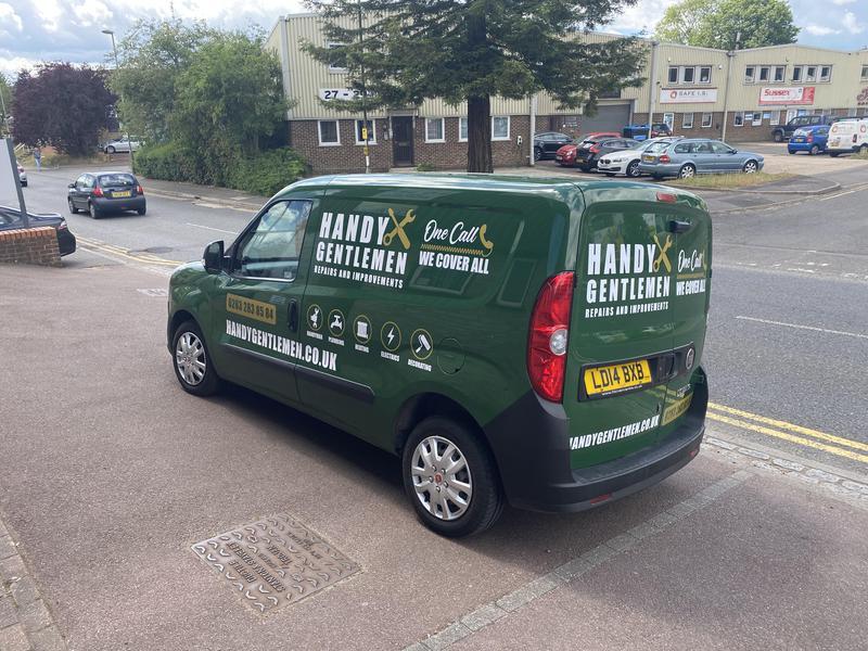 Image 16 - Handy Gentlemen London's home repairs and improvements service