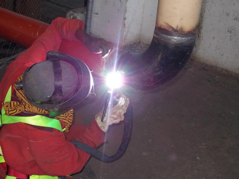 """Image 11 - Pipe weld 6"""""""