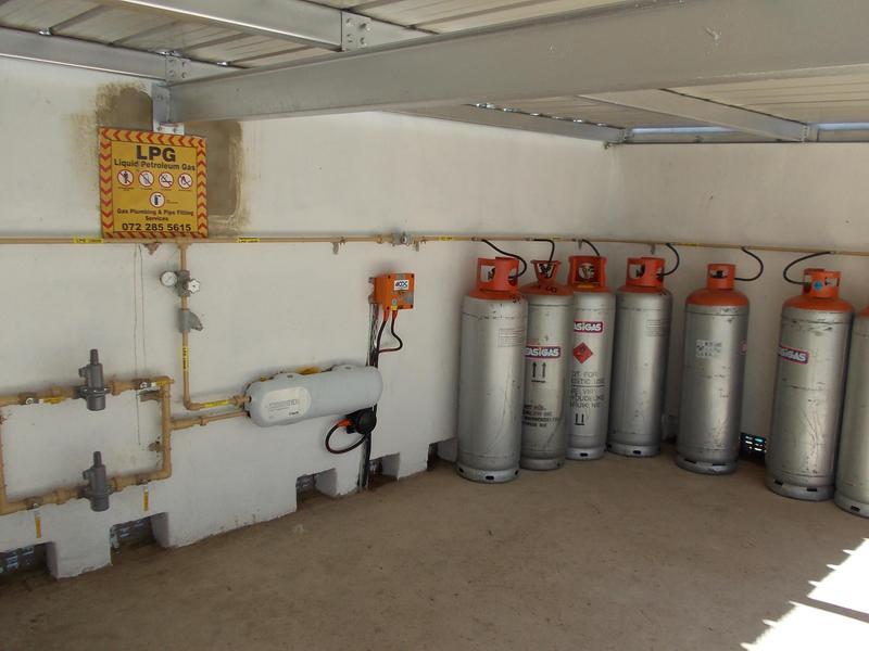 Image 13 - LPG cylinder installation