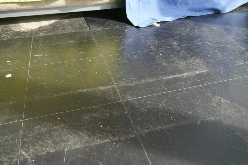 Image 15 - Asbestos Floor Tiles Removal - BEFORE