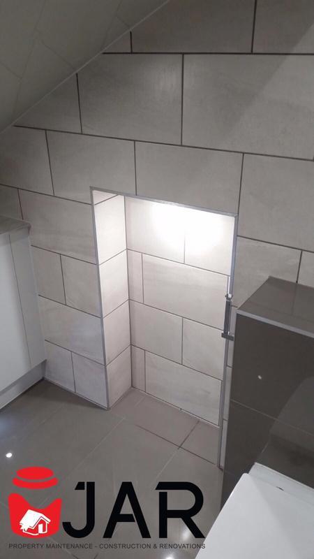 Image 1 - Matt Vs Gloss / Bespoke shelf with lighting