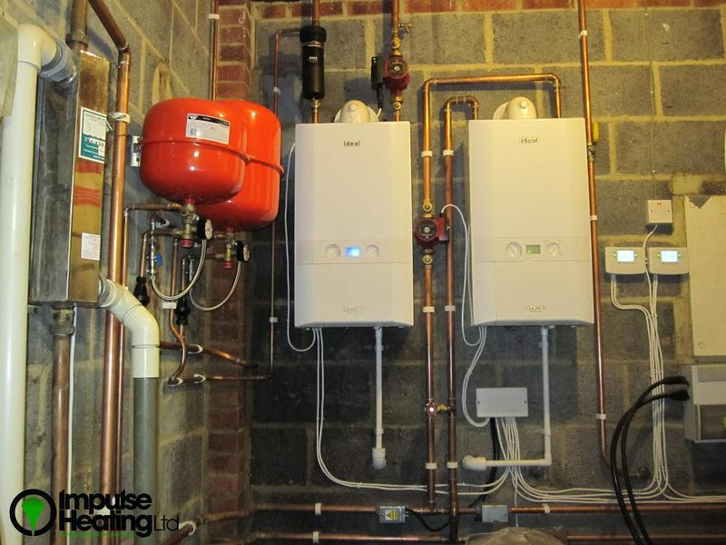 Image 3 - One boiler serves the central heating to around 20 radiators and the other boiler serves the heating to a large swimming pool and a 300L unvented cylinder.