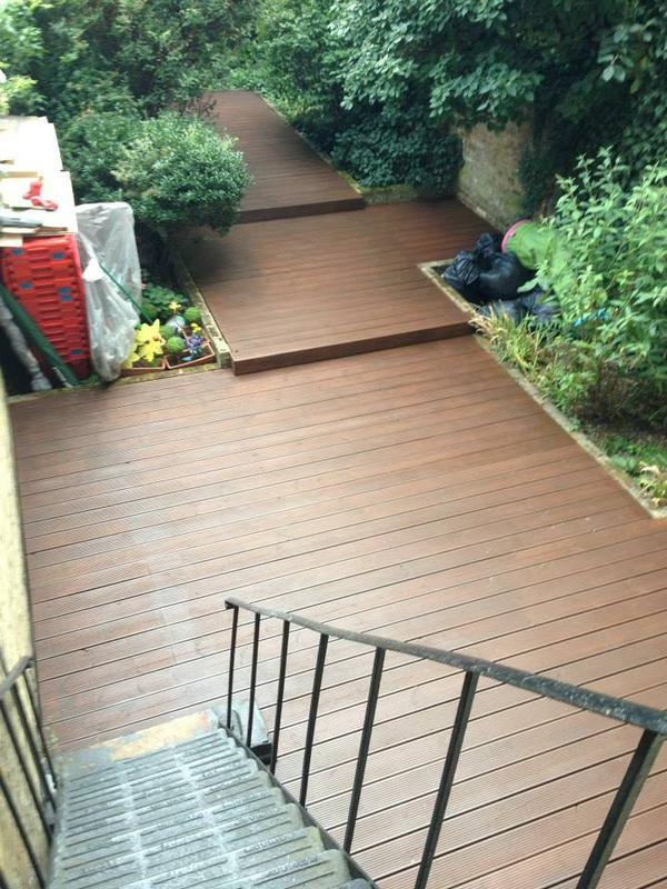 Image 186 - Decking repairs & treatment
