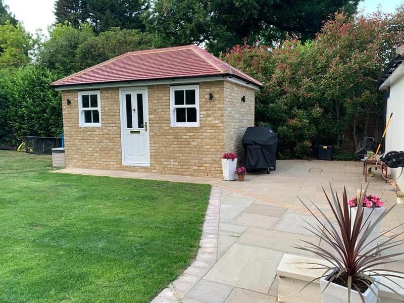 Image 22 - Brick built shed
