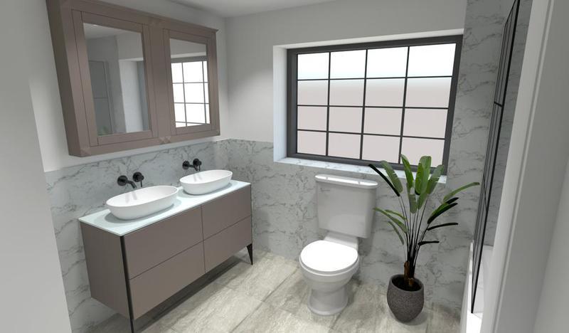 Image 28 - Bathroom design.