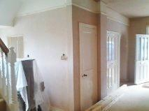 Image 8 - Downstairs hallway plastering