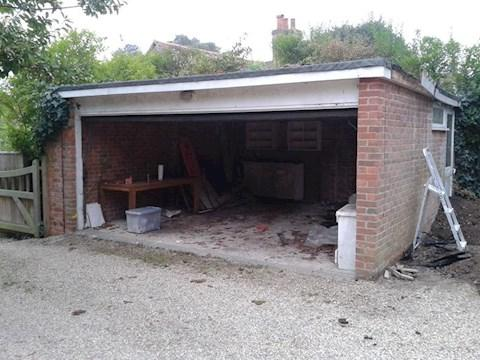 Image 40 - Garage conversion before & after