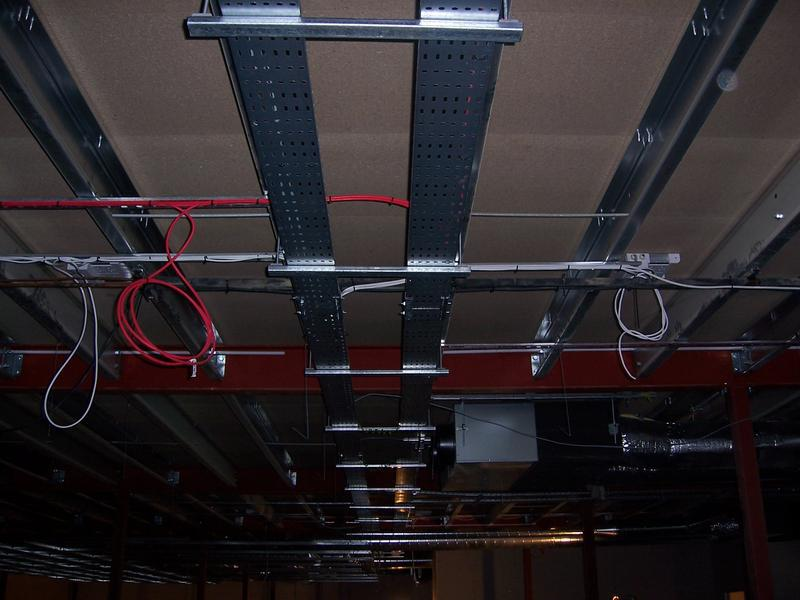 Image 5 - AHL Tonbridge Tray,fire alarm and lighting installation