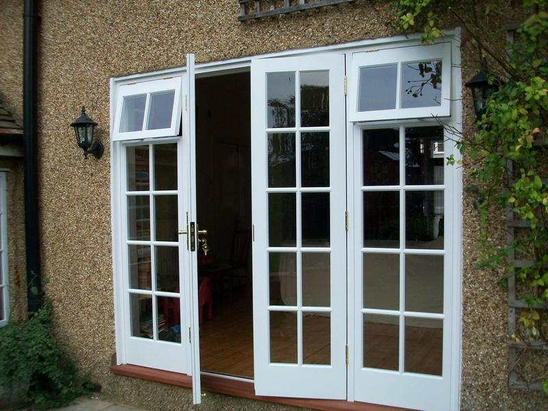 Image 14 - Accoya softwood french doors made to match existing on a listed building.