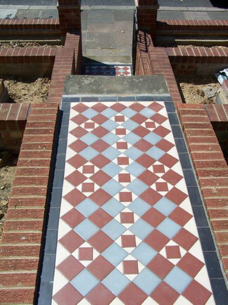 Image 13 - Victorian Tiled Path