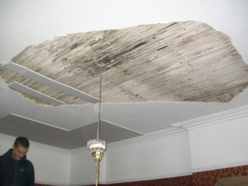 Image 6 - Ceiling in need of repair