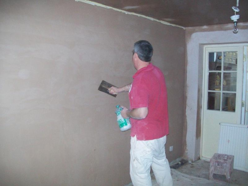 Image 5 - Walls and ceiling plastered