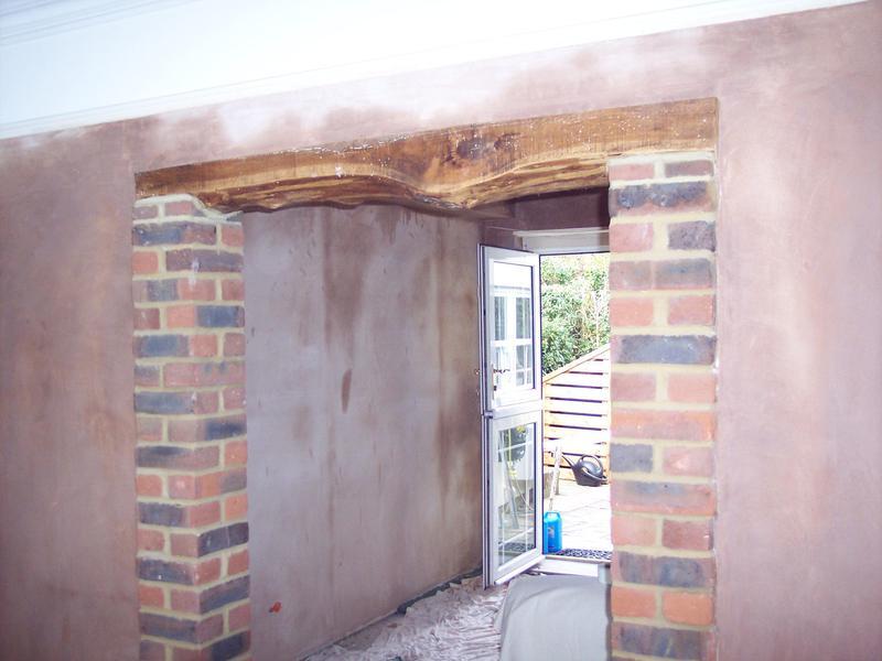 Image 7 - Detail around exposed brickwork