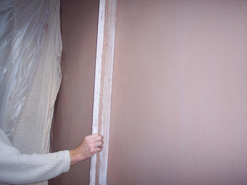 Image 9 - Completely flat wall after plastering