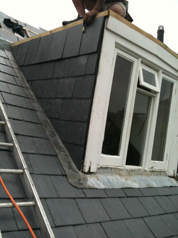 Image 11 - Slate tile hanging on dormer