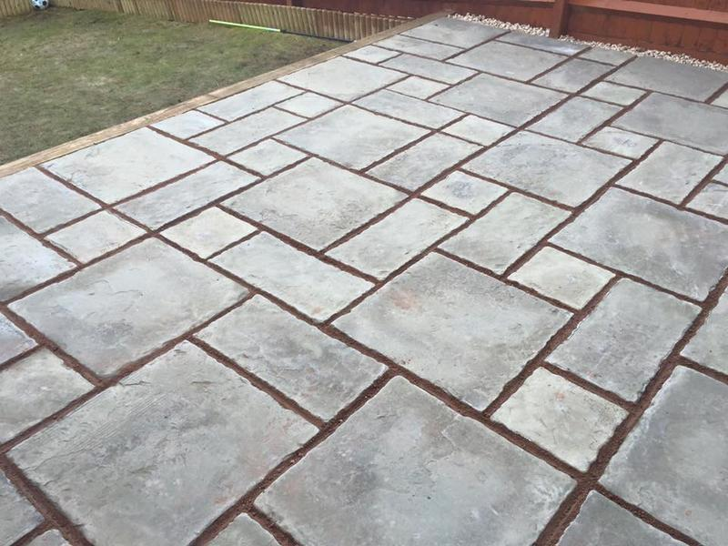 Image 62 - Rutland winter stone patio
