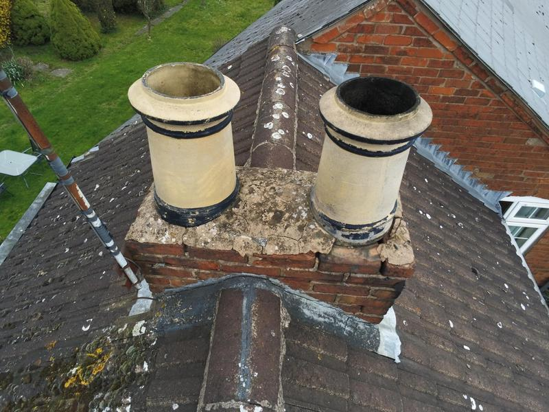 Image 8 - Old damaged chimney