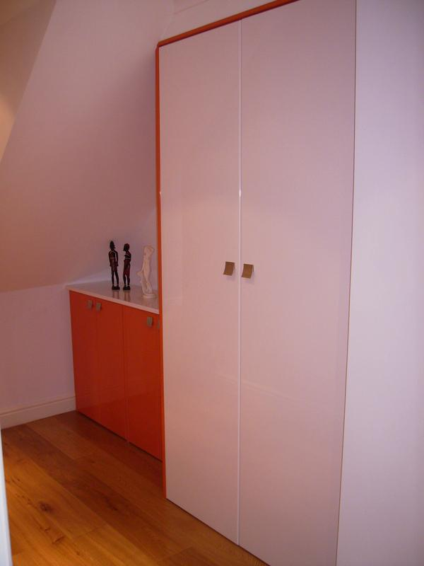 Image 60 - Bespoke polyester sprayed storage.