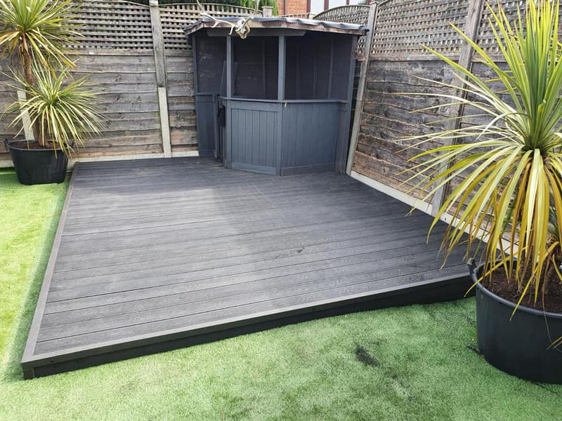 Image 222 - Composite decking - Whitefield - Complete
