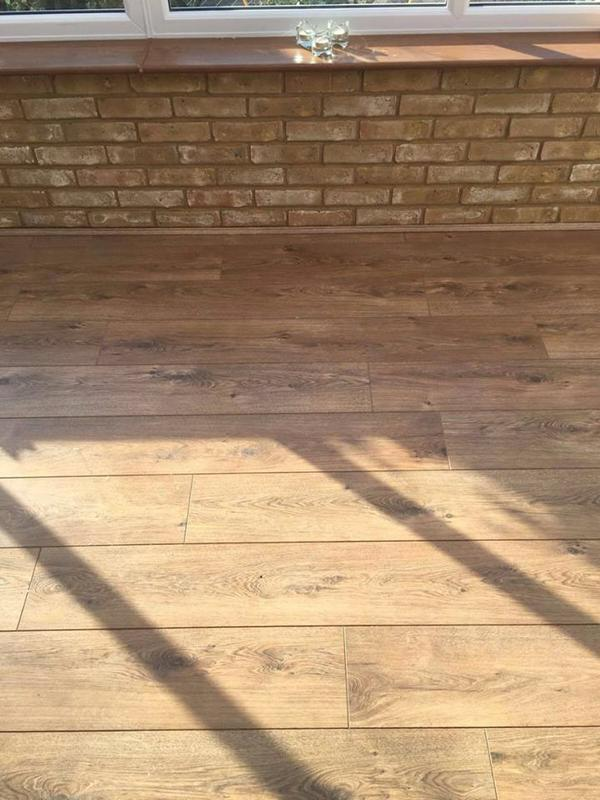 Image 11 - Natural Engineered Wood flooring.