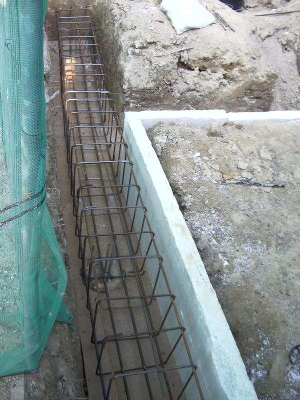 Image 8 - Ground beam on piling